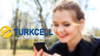 Turkcell Bedava SMS Paketi