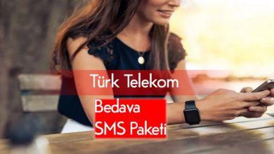 Türk Telekom Bedava Mesaj Hakkı