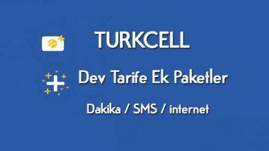 Turkcell Ek İnternet Paketi