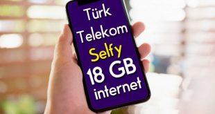 türk telekom selfy bedava internet