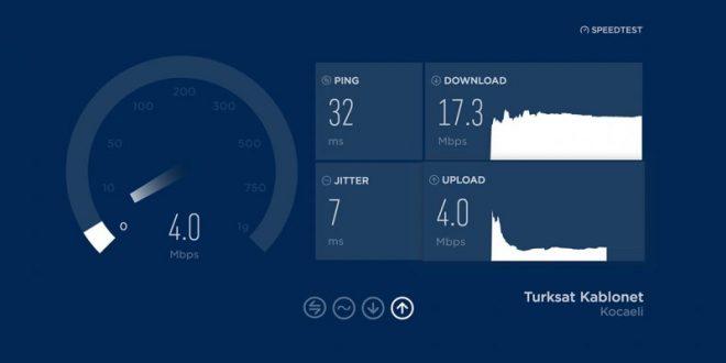 İnternet Hız Testi Nasıl Yapılır, Kaç Olmalı