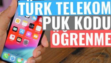 Türk Telekom PUK Kodu Öğrenme ve Değiştirme