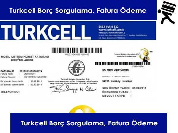 Turkcell Fatura Ödemesi Nasıl Yapılır