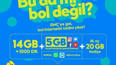 Turkcell Faturalı ve Faturasız GNC Paketleri ve Tarifeleri
