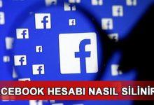facebook hesabı nasıl kapatılır