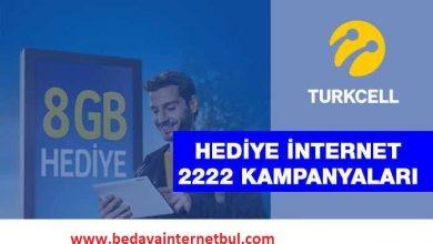 turkcell faturasız bedava internet