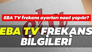 EBA TV Frekans Ayarlama ve Frekans Bilgileri