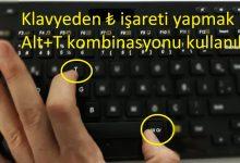Klavyede TL Simge İşareti Nasıl Yapılır