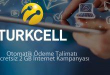 turkcell otomatik ödeme bedava internet