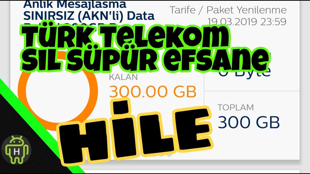 Türk Telekom Sil Süpür Hilesi