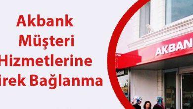 akbank müşteri hizmetlerine direk bağlanmak