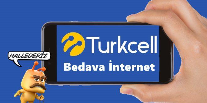 turkcell bedava internet kazanma