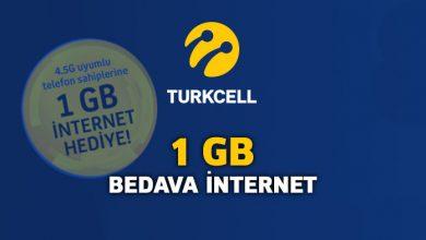 turkcell beleş internet