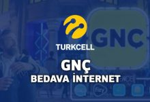 turkcell gnç bedava internet
