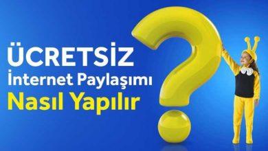 turkcell hediye internet gönderme