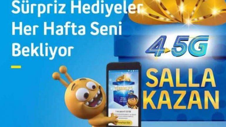 turkcell salla kazan hilesi
