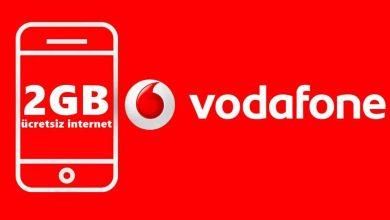 vodafone 2 gb bedava internet