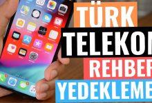 Türk Telekom Rehber Yedekleme Nasıl Yapılır