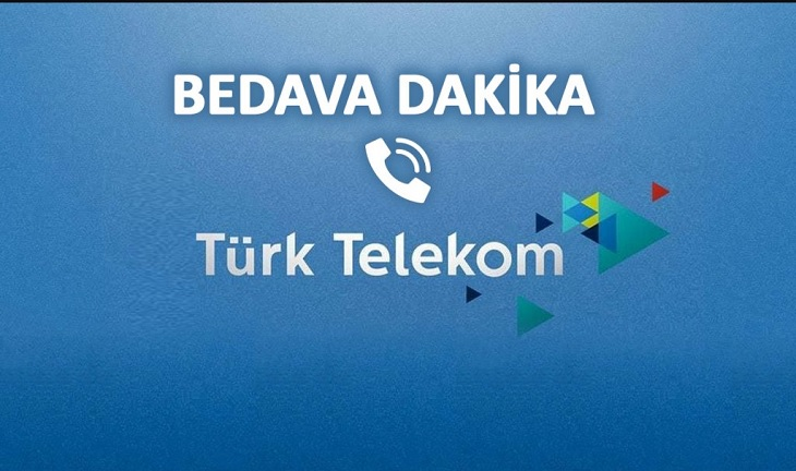 türk telekom bedava dakika