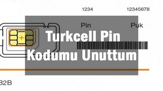 turkcell pin kodu