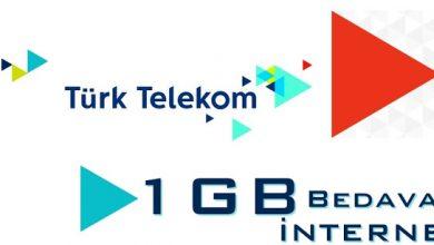 tük telekom bedava internet paketi