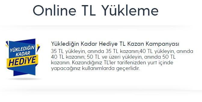 turkcell en az kaç tl