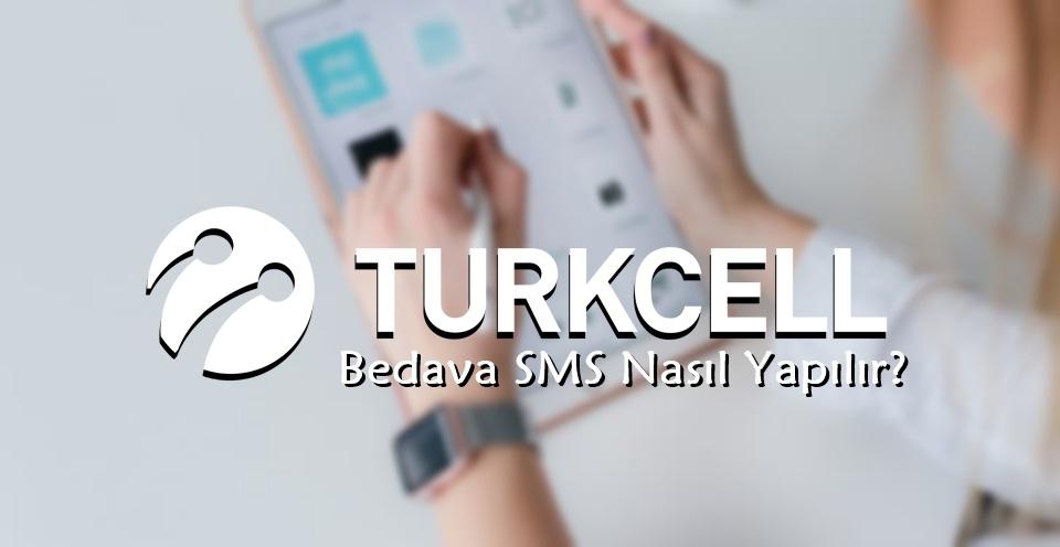 turkcell bedava sms veren uygulamalar