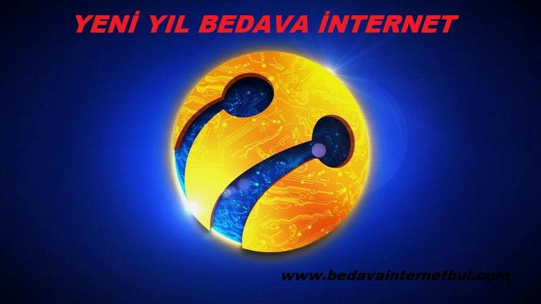 turkcell yılbaşı bedava internet