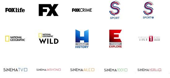 vodafone tv kanalları