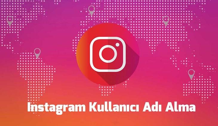 instagram kullanıcı adı alma