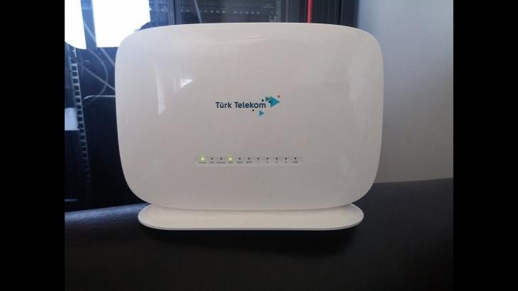 ttnet modem şifresi değiştirme