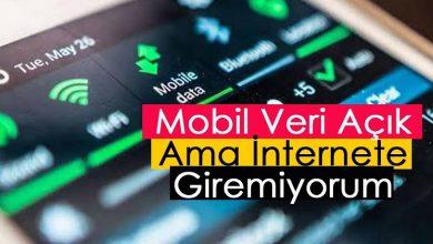 turkcell mobil veri çekmiyor