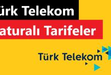 Türk Telekom Faturalı Tarifeler