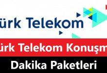 Türk Telekom Konuşma Dakika Paketleri