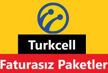 Turkcell Faturasız Tarifeler