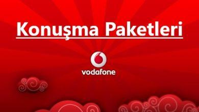 Vodafone Konuşma Dakika Paketleri